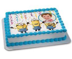 Marvelous Photo of Minion Birthday Cake . Minion Birthday Cake Minion Cakes Despicable Me Birthday Cakes Custom Birthday Cakes Happy Birthday Cake Pictures, Image Birthday Cake, 6th Birthday Cakes, Custom Birthday Cakes, Minion Birthday, Birthday Stuff, Birthday Ideas, Fondant Minions, Minion Cupcakes