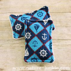 Nature Junkie Unsponges are a great #ecofriendly alternative to store bought sponges that collect bacteria and odors. - $8 #handmade #gogreen #reducereuserecycle #nautical #boats #anchors
