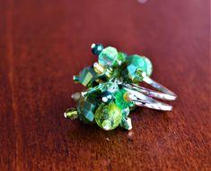 Anello Fantasia Verde di ChicchediGiulia su Etsy