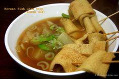 Korean Fish Cake Soup (Eomuk Guk)