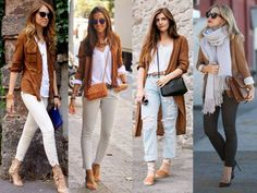 cognac street style looks, Fall street styles trends http://www.justtrendygirls.com/fall-street-styles-trends/