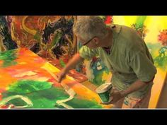 Beautiful images of the Australian rainforest - the inspiration for an artist's work .  Noel Hart Hot Glass Sculptor and Artist - YouTube