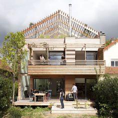 Deck siding