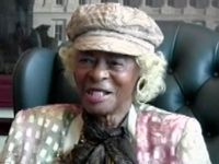"""Blog post: """"Two Veterans, Two Wars, Two Remarkable Women"""" by Lisa Taylor. March 23, 2015. Pictured: Evelyn Martin Johnson during VHP interview, 2012. Evelyn Martin Johnson Collection, AFC/001/2001/82811."""