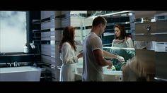 Banheiro em #GRANITO #PRETOFANTASIA - Filme Mr & Mrs Smith #GranitoPreto #BanheiroGranito