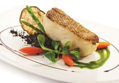Braised Chilean Sea Bass with Balsamic Soy Glaze