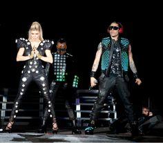 Black Eyed Peas Illuminated Stage Costumes Making Of