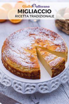 Il MIGLIACCIO è un dolce della tradizione campana, che si preparara nel periodo di Carnevale. L'impasto di questa torta è a base di semolino fatto cuocere nel latte e nel burro. Facile da preparare!  #giallozafferano #torta #dolci #dessert #ricettefacili #dolcifacili #ricettetradizionali #italianrecipes #carnevale #carnival  [Carnival Cake Recipe] Italian Pastries, Italian Desserts, Italian Recipes, Ricotta, Cookie Desserts, Dessert Recipes, Bon Dessert, Italian Cookies, Sweet Breakfast
