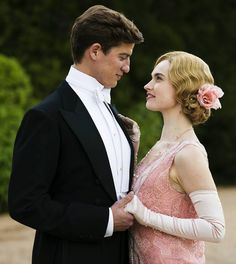 the cutest couple in downton abbey