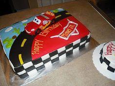 Sprinklebelle: Disney Cars Cake