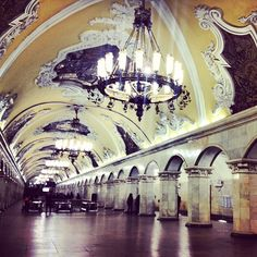 The Moscow Metro (Moscow, Russia) p. 320