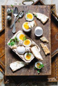 Boiled Eggs & Marmite Soldiers - Baliboosta