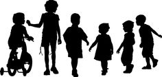 kids silhouette png - Buscar con Google