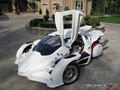 Aero 3S T-Rex Three Wheel Motorcycle ~ TECH WORLD