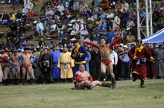 WRESTLING COMPETITION - Mongolian Traditional Wrestling is a knock-out competition. http://www.goyotravel.com/events.html