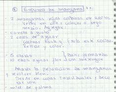 ESPUMA DE MANZANAS   #DULCE #POSTRES #POSTRE #MANZANA