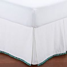 Shop dust ruffle from Pottery Barn Teen. Our teen furniture, decor and accessories collections feature fun and stylish dust ruffle. Create a unique and cool teen or dorm room. Teen Girl Bedding, Blue Bedding, Linen Bedding, Bed Linens, Bedding Sets, Dorm Bedding, Linen Sheets, Girl Nursery, Dune