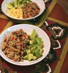 salad recipes, southwestern quinoa, quinoa salad, healthi recip, salads