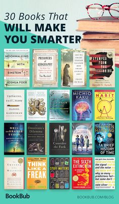 A great reading list of books that will make you smarter. Including inspiring and motivational nonfiction for men, women, and teens! Teen Fashion 30 Nonfiction Books That Are Guaranteed to Make You Smarter Best Books To Read, I Love Books, My Books, Teen Books, Reading Books, Book List Must Read, Best Non Fiction Books, Books To Read In Your 20s, Best History Books