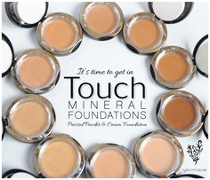 It's time to get in TOUCH. youniqueproducts.com #youniqueproducts #beauty #mineralmakeup
