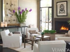 Veranda+Living+Room | love this calming living room via mix and chic # laylagrayce # living