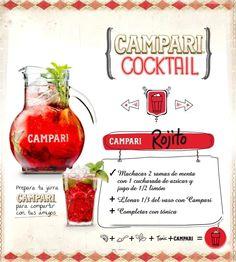 #Campari Cocktail - Jarra Rojito