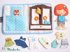Habillez kisrókával bébé et pièce de 12ruha jouet Baby-mère-enfant, des poupées, dollhouse, compétences jeu Mesko