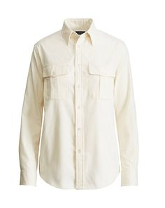 Polo Ralph Lauren - Cotton Twill Military Shirt