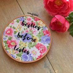 Besties Embroidery £12.00