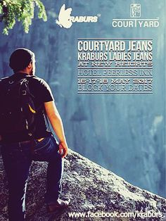 Join us at Courtyard Mens Jeans / Kraburs Ladies Jeans Fair at New Heights Hotel Peerless Inn  We will be Featuring our Exclusive Products and Some of the Best Designs on 16th, 17th& 18th May 2017 Block Your Dates Now  #courtyardmensjeans #kraburswomensjeans #Fair #denim #denimlycra #fabrics #Denim2017