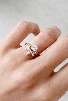 Unique engagement rings say wow 23 #weddingring