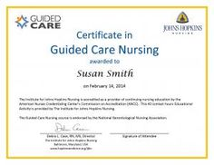 Guided Care Nursing | IJHN Learning System