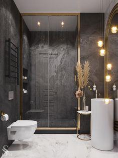 Bathroom set: learn how to choose and see decor references - Home Fashion Trend Diy Bathroom Decor, Bathroom Layout, Bathroom Ideas, Bohemian Bathroom, Rental Bathroom, Bathroom Trends, Bathroom Designs, Bathroom Organization, Bathroom Storage