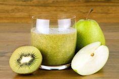 Päärynä ja kiivi -smoothie