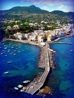Ischia, Campania, Italy Spent Pasqua  here many years ago with Rosemary Roche Joralamon and a few other Rome Center buds.  It was amazing.f