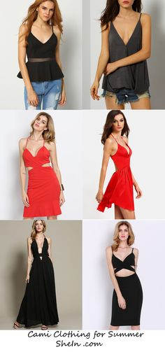 Cami Clothing from SheIn - Fashion Style Summer