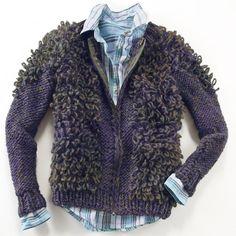 Modell 241/3, Jacke aus Toulouse von Junghans-Wolle, 1 versch. Farben