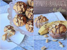Miss Blueberrymuffin's kitchen: Erdnuss-Bananen-Muffins aus Karens Wanderbuch