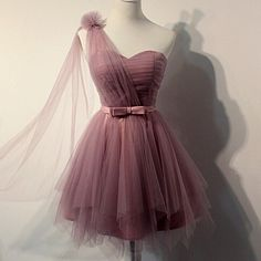 M24 charming homecoming dress,tulle homecoming dress,pleat homecoming dress,cute homecoming dress