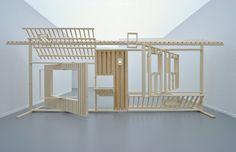 Probe by 'Mirjam Kuitenbrouwer'. Exhibition Display, Exhibition Space, Folding Furniture, Furniture Design, Ile D Aix, Scenic Design, School Architecture, Stage Design, Retail Design