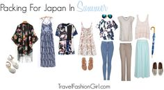 Packing For Japan In Summer