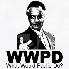 Wwjd Paulie Walnuts Sopranos T Shirt