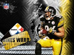 I LOVE me some Hines Ward!  Miss him...