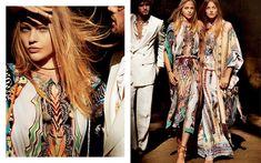 Etro S/S 2015 (Etro) Mario Testino - Photographer Anastasia Barbieri - Fashion Editor/Stylist Fashion Advertising, Fashion Marketing, Advertising Campaign, Ads, 2016 Fashion Trends, Fashion News, Sasha Pivovarova, Become A Fashion Designer, Future Fashion