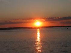 Sunset on Chincoteague Island