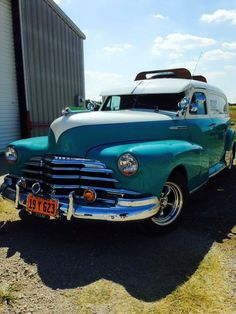 '48 Fleetmaster we completely worked.