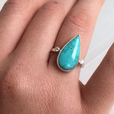 💕Elegant Simply Beautiful 💕 Designer Turquoise from Hubei Provence in China