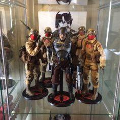 Major Bludd & squad, by Chad Lawless