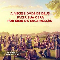 """""""Hino da Palavra de Deus O Deus encarnado é muito importante para a humanidade Deus encarnado faz o que o homem não pode, pois Sua essência interior é diferente. Ele pode salvar o homem pois Sua identidade é diferente da do homem."""" de A Palavra manifesta em carne #jesus_esta_voltando#falar_com_deus#devocional#Deus#misericórdia_de_deus#a_vontade_de_deus#evangelho#arautos_do_evangelho#o_verbo_se_ez_carne#musica_gospel#musicas_gospel#música_evangélica#louvores_de_adoração#hinos_evangélicos Jesus Cristo, God, Movie Posters, Movies, Love Of God, Gospel Song Lyrics, Films, Film Poster, Popcorn Posters"""