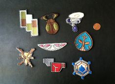 Pokemon X/Y Kalos Badges Embroidered Patches by QuidVis on Etsy, $5.00
